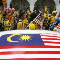 Tens of thousands demand Malaysian leader Najib resign over money scandal
