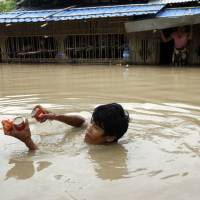 Nearly 1 million affected by Myanmar floods as death toll nears 100