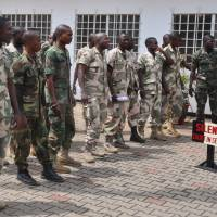 Review ordered of cases of Nigeria soldiers condemned for desertion in Boko Haram war