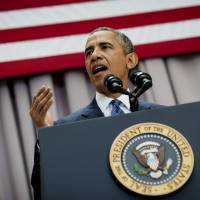 Obama invokes JFK diplomacy stance, warns rejecting Iran deal could result in war