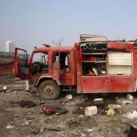 China blasts death toll hits 112, likely to rise as scores of firefighters missing
