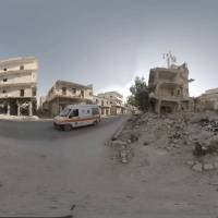 Virtual reality offering 360-degree view inside war-ravaged Syria