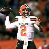 Manziel to miss remainder of preseason with elbow injury
