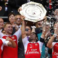 Arsenal edges Chelsea in Community Shield