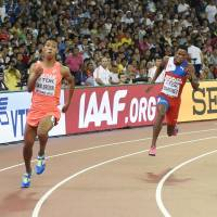 Sani Brown misses out on spot in 200-meter final at worlds