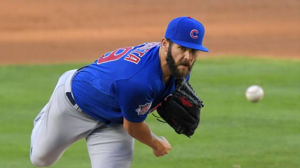 Arrieta strikes out 12 in no-hitter for Cubs