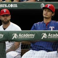Darvish feeling no pain after return to throwing