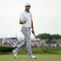 Johnson leads PGA with 66