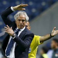Japan manager Halilhodzic unhurt after car crash
