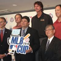 Diamondbacks representatives help promote MLB Cup in Japan