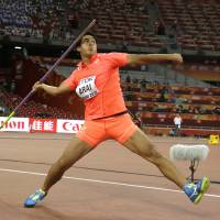 Arai takes aim after topping javelin qualification