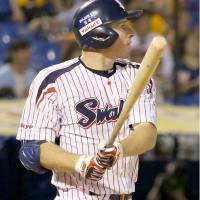 Dening delivers winning blast for Swallows