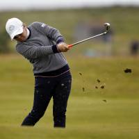 Miyazato in contention at major