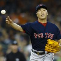 Red Sox closer Uehara out for season with broken wrist