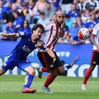 Okazaki makes winning start on Premier League debut with Leicester