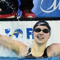 Ledecky wins 200-meter freestyle at world championships