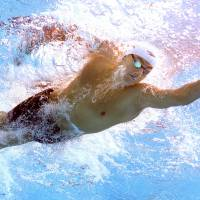 U.S. men fail to qualify for relay final at swim worlds