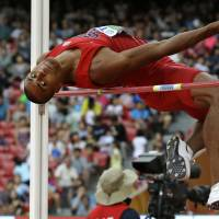 Eaton takes control in  decathlon competition
