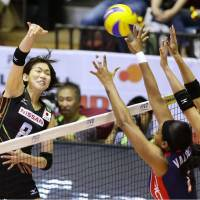 Japan prevails over Dominican Republic in five-set battle