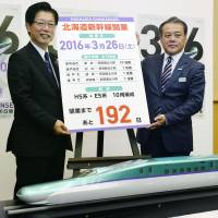 Hokkaido Shinkansen Line will run from March 26, operators confirm