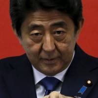 Abe urges all-out efforts during TPP talks in Atlanta