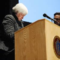 Fed to raise rates by year's end unless unforeseen happens, Yellen indicates