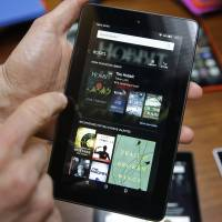 Amazon in new gadget offensive, led by $50 tablet
