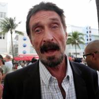 Eccentric antivirus pioneer McAfee aims for White House