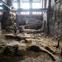 Excavation of Rome home shows city bigger than thought