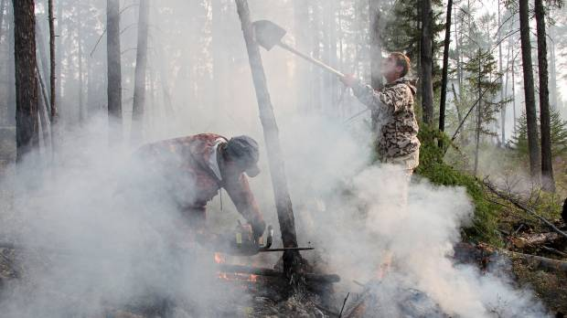 Lake Baikal area under threat from wildfires