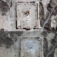 Bel, Palmyra's most-treasured temple, destroyed by Islamic State, satellite images show
