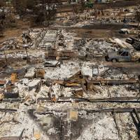 Scope of devastation becomes clear as California wildfire evacuees return