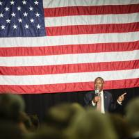 Carson calls Muslim president issue 'theoretical' and blames 'P.C. culture' for gaffe flap