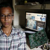 Muslim schoolboy whose clock was mistaken for bomb won't be charged, gets Obama invite