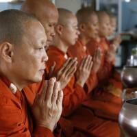 'Rebel' female Buddhist monks challenge Thailand's religious status quo