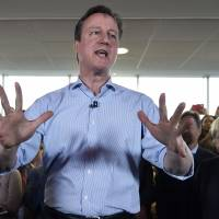 U.K. chuckles over book alleging high-jinks by student Cameron