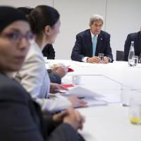 U.S. may accept 85,000 refugees in 2016, 100,000 in 2017 but screening, funds pose hurdles: Kerry