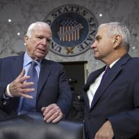 U.S. should patrol within 12 miles of Beijing-built South China Sea isles, McCain urges
