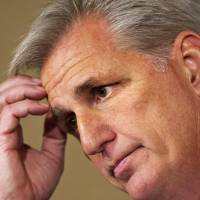 Boehner's likely successor McCarthy slams Obama's foreign policy