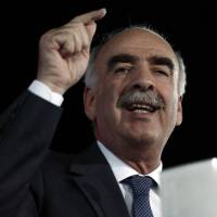 In tight Greek vote, conservative Meimarakis pledges to restore stability