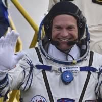 Denmark's first astronaut arrives at ISS