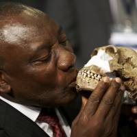 South Africa's new human relative sparks racial row