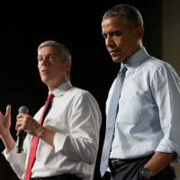 Obama returns to Iowa to cement his political legacy as wannabe successors circle