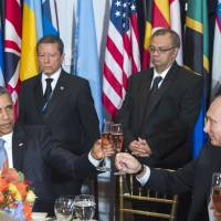 In U.N. addresses, Obama, Putin duel over Syrian crisis, fate of Assad