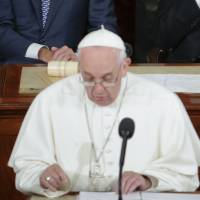 Pope to divided Congress: Welcome  immigrants, end poverty, protect human life in all stages