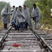 Asylum-seekers follow tracks of old Orient Express route