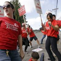 Teachers strike for first time in 30 years in pricey Seattle as pay, contract talks stall