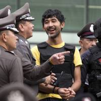 Thai police say suspect handed backpack to Bangkok bomber