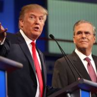 Tough love: Trump trots out video blasting Bush as soft on illegal immigrants featuring trio linked to slayings
