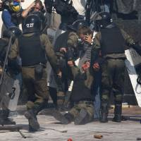 Ukraine accuses ultra-nationalists in deadly Kiev clash